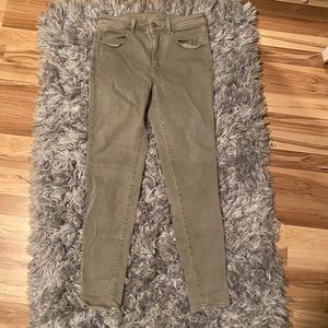 Light Green Jeggings